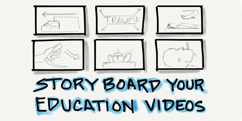 Storyboard Educational Videos  Resus Review
