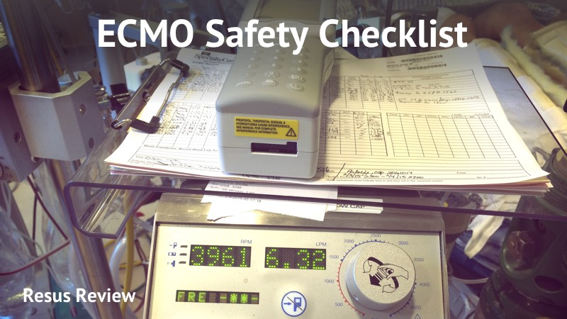 ECMO Safety Checklist